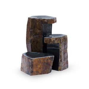 Set of 3 Keyed Basalt Columns by Aquascape | Stone Fountains