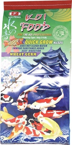 Pond Supplies, Fish Food | Hai Feng Quick Grow Wheat Germ