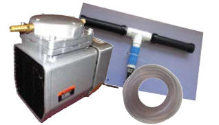 1/8 HP Diaphragm Air Compressor Kit | Aeration Pumps