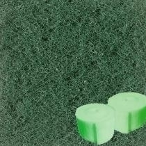 "Green Filter Material (Bulk) - 1 'thick; 56"" wide; dense 