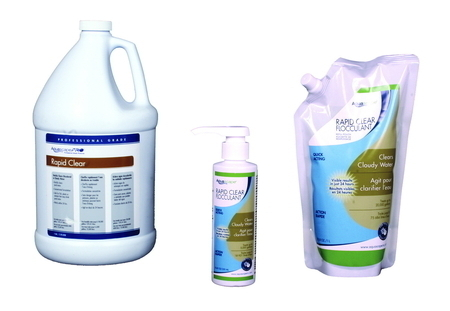 Rapid clear water treatment aquascape pond supplies for Ultimate koi clay