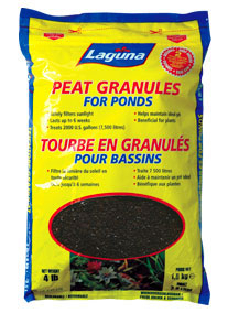 Peat Granules For Ponds by Laguna | pH Control