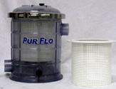 Image Leaf Basket Strainers by PurFlo Filtration
