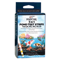 Image PondCare 5-in-1 Test Strips
