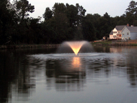Image Kasco Floating Aerating Fountain 3400VFX & 3400HVFX 3/4 HP
