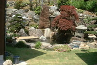 Paul's Pond, Rocks and Pagoda in Japan thumbnail