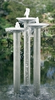 Image The Thames Stainless Steel Water Feature by Stowasis
