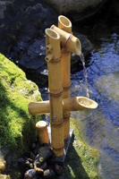 Image Deer Scarer Bamboo Fountain w/Pump