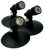 Image Aquascape LED Pond and Landscape Spotlight Kit Three 1-Watt