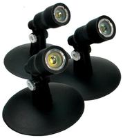 Image Aquascape LED Pond and Landscape Spotlight Kit Three 1-Watt