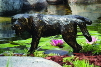 Image Brass Naughty Dog Spitter by Aquascape