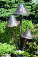 Image Brass Mushrooms Fountain by Aquascape