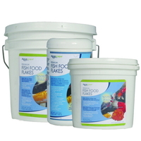 Image Premium Fish Food Flakes by Aquascape