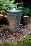 Large Stacked Slate Fountain - 98938