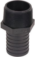 Image Barbed Male Hose Adapter  - Male x Barb