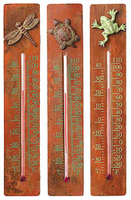 Image Cast Brass Thermometers