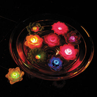 Image AquaGlow Floating Light Garden - 3 Pack