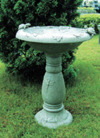 Image Country Gardens Solar Birdbath by Smart Solar