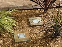 Image Solar SLATE Step Stones 2/pk by Smart Solar