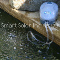 Image Solar Pond Oxygenator and Air Diffuser by Smart Solar