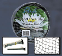 Image Pond Cover Nets - 10' X 10' CLEAR(Milky White)(1/8