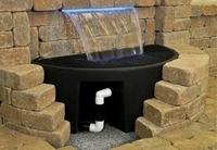 Image Colorfalls Pond-Free Basins by Atlantic Water Gardens
