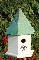 Image Copper Songbird Birdhouse by Heartwood