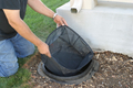 Image Replacement Debris Net-Downspout Filter-30095