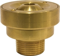 Image Bronze Flush Mount Arching Jet Nozzle by EasyPro Pond Products