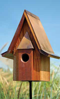 Image Mahogany Chateau Birdhouse by Heartwood