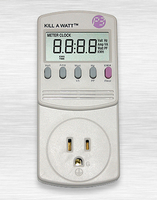 Image Kill-A-Watt Electric Amp/Watt Meter