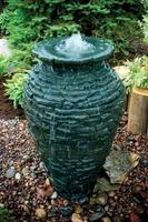 Image Medium Stack Slate Urn by Aquascape