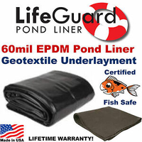 Image 60 mil Rubber Liner by Life Gard
