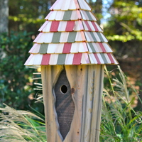 Image Vintage Bluebird Birdhouse by Heartwood