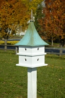 Image Cypress Landing Birdhouse by Heartwood