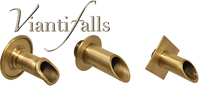 Image Brass Wall Scuppers by Vianti Falls
