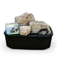 Image Pagoda Stone Fountain Rock Set and Kit