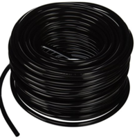 Image 100ft Roll of Black Vinyl Tubing