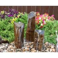 Image Triple Rustic Basalt Fountain Kit by Blue Thumb