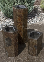 Image Hollowed-Out 3 Basalt Fountain Kit