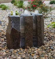 Image Triple Split Basalt Fountain Kit by Blue Thumb