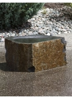 Image Polished Basalt Bird Bath by Blue Thumb