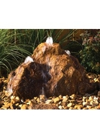 Image Triple Cascade Rock Fountain Kit