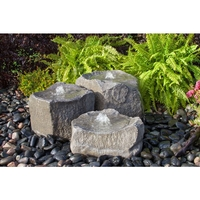 Image Triple Cascade Rock Fountain Kit