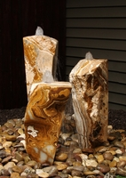 Image Triple Grand Canyon Red Onyx Fountain Kit