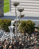 Image Rustic Stainless Steel Fountain