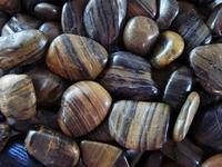Image Striped Polished Pebbles