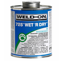 Image Weld-On 725 Wet 'R Dry - 1/4 Pint
