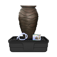 Image Medium Scalloped Urn Fountain Kit