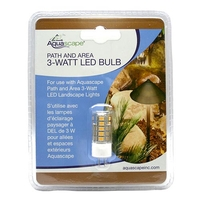 Image Path and Area 3 Watt LED Replacement Bulb